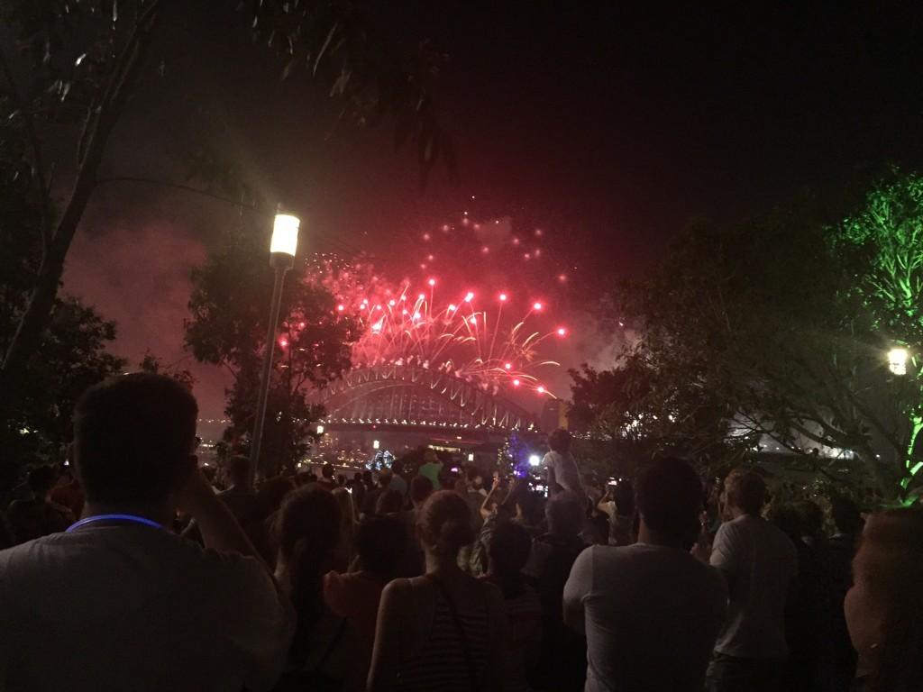 NYE fireworks by Kaori Takahashi, Bureau Chief for Nikkei Inc